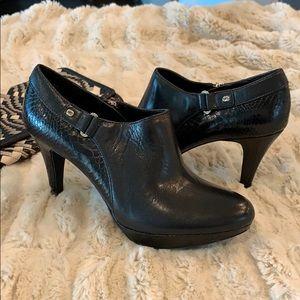 Bandolino Black Platform Booties, Size 8.5